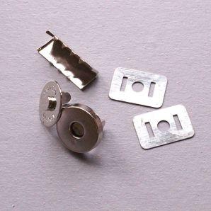 Magnetverschluss 18mm - Silber