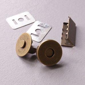 Magnetverschluss 18mm - Bronze