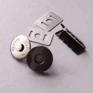 Magnetverschluss 18mm - Schwarz