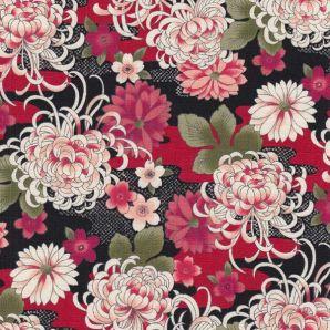 Reststück Michiru Flower - Rot