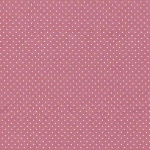 Popeline Minipünktchen - Blush