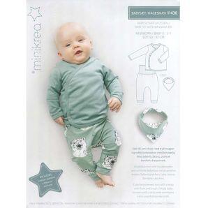 Minikrea - Baby Set mit Lätzchen 11430