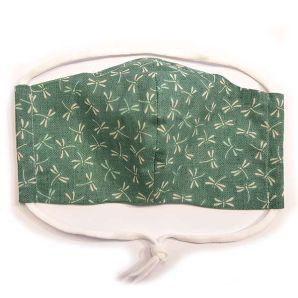 Mund-Nasen-Maske - Suzume Dragonfly - Mint