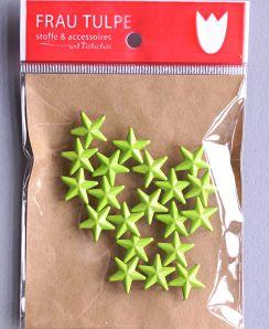 Zierniete Stern - Grün