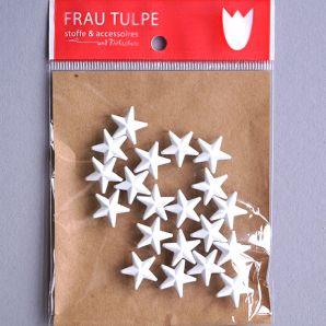 Zierniete Stern - Weiß