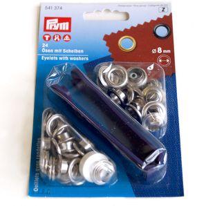 Ösen - Ø 8mm - silber