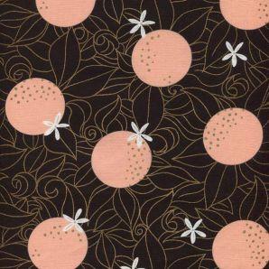 Florida Orange Blossoms - Black