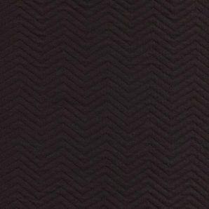 Reststück Organic Chevron Quilt - Black