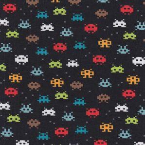 Bio Jersey Pixel Game - Schwarz