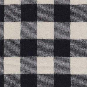 Plaid Highland Flannel - Weiß/Schwarz