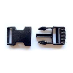Clipschnalle 2,4cm - Schwarz