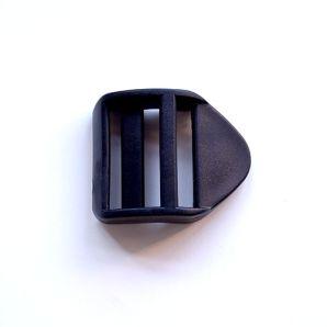 Verstellschnalle 3,8cm - Schwarz
