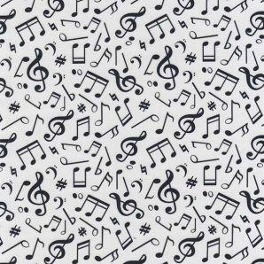 Popeline Musik - Weiß