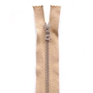 Riri Metallreißverschluss teilbar 45cm - Beige