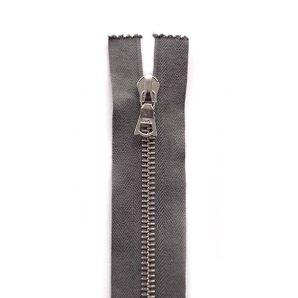 Riri Metallreißverschluss teilbar 30cm - Dunkelgrau