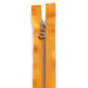 Riri Metallreißverschluss teilbar 45cm - Gelborange