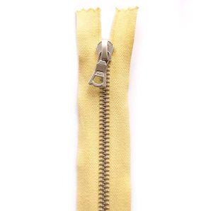 Riri Metallreißverschluss teilbar 50cm - Hellgelb