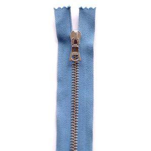 Riri Metallreißverschluss teilbar 25cm - Rauchblau