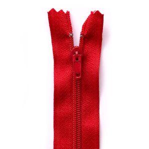 Reißverschluss 55cm - Rot