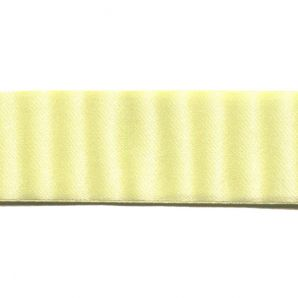 Satinband 38mm - Pastellgelb