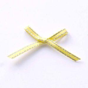 Schleifchen 40mm - gelb