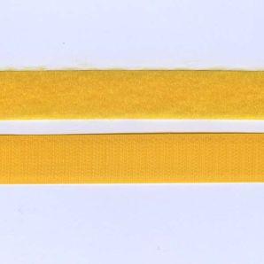 Klettband 20mm - Gelb