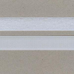 Klettband 20mm - Weiss