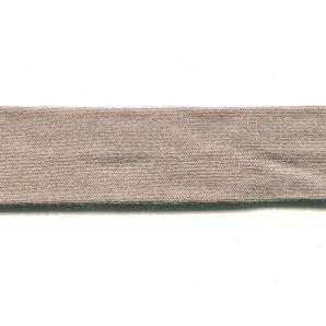 Schrägband Viskosejersey 20mm - Taupe