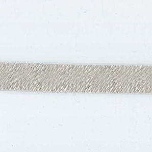 Schrägband 20mm Leinen