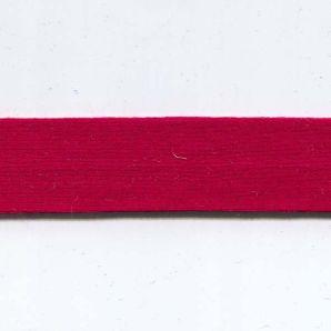 Schrägband Viskosejersey 20mm - Rot