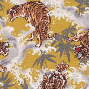 Screaming Tiger - Gelb
