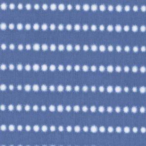 Reststück Shibori Dot - Hellblau