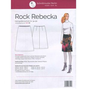 Schnittmuster Berlin - Rock Rebecka