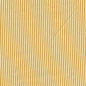 Popeline Stripe - Gelb