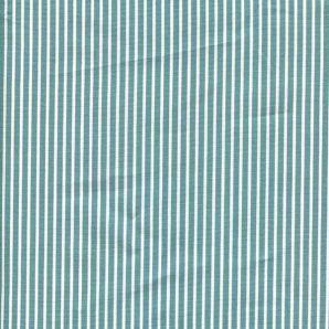 Popeline Stripe - Grün