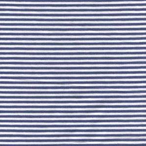 Jersey Streifenliebe - Blau/Weiß