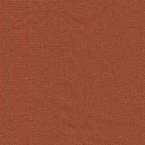 Stretch Baumwoll Satin -  Rust