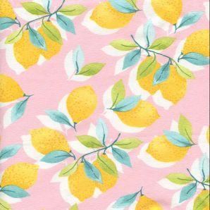 Reststück Jersey Sun & Lemon - Rosa