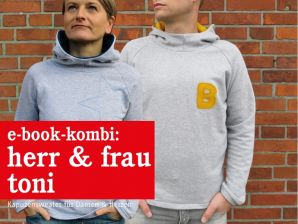 Studio Schnittreif - eBook Kombi - Sweater Herr Toni & Frau Toni