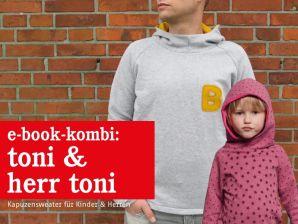 Studio Schnittreif - eBook Kombi - Sweater Toni & Herr Toni