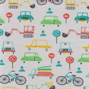 Reststück Jersey Traffic Drawing