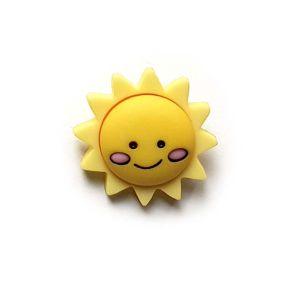 Knopf mit Öse Sonnenschein 20mm