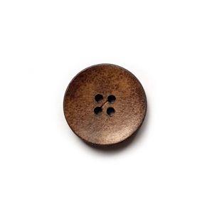 Lederknopf 4-Loch 23mm
