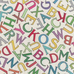 Vintage Letters - Cremeweiß