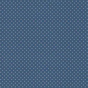 Wachstuch Minipünktchen - Blue