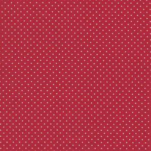 Wachstuch Minipünktchen - Red