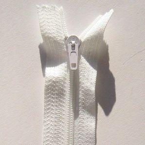 Reißverschluss 55cm - Weiß