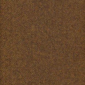 Englische Wolle Fischgrät - Walnuss