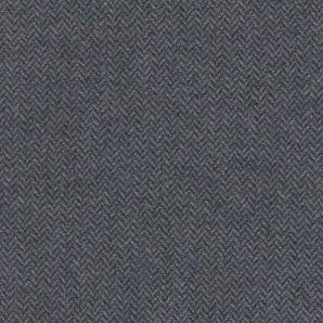 Fischgrät Wollmix - Dunkelgrau