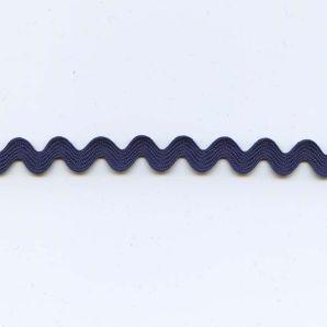 Zackenlitze 9mm - Dunkelblau